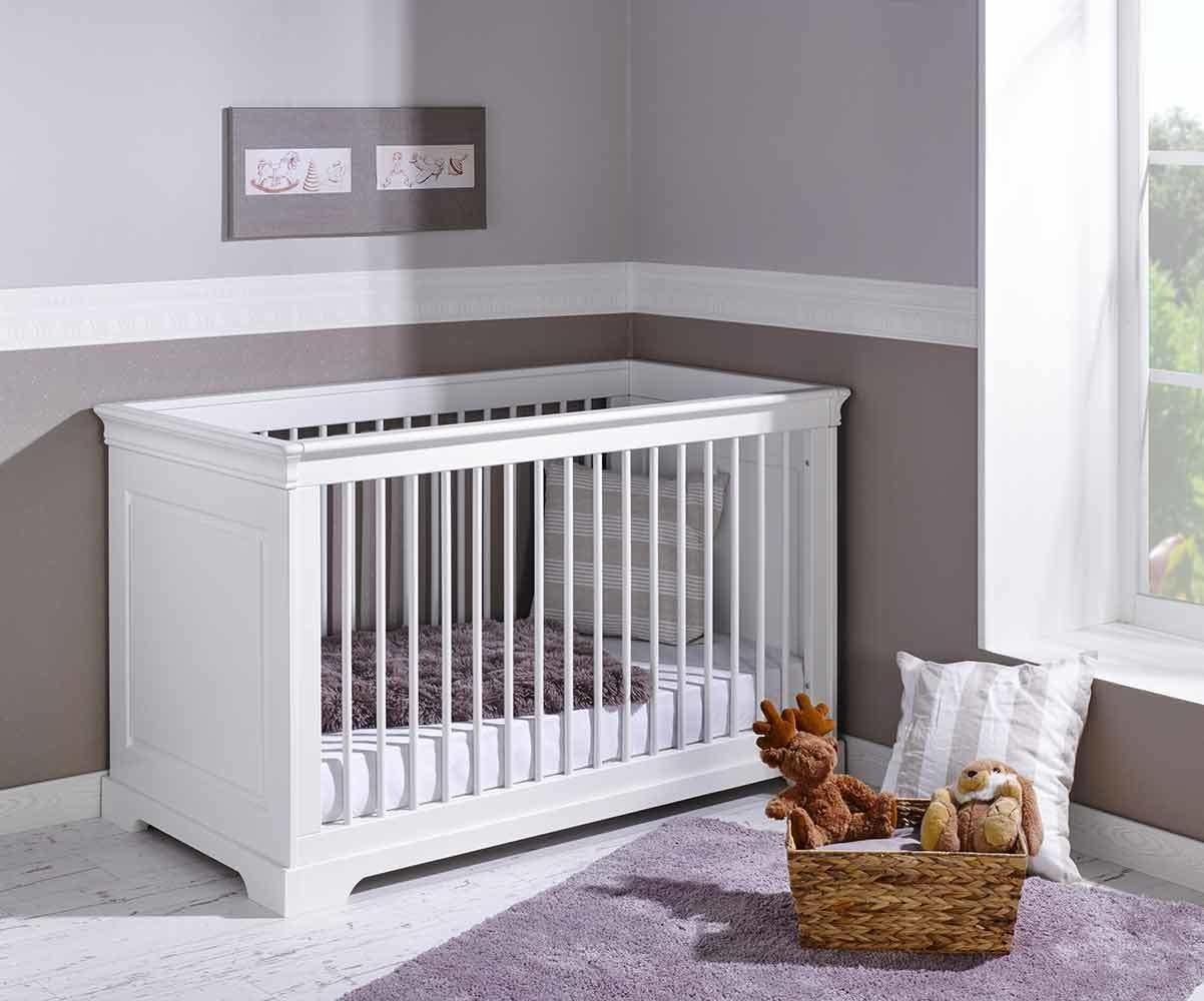 Achat vente lit b b colutif mel blanc 70x140 cm avec matelas b b - Vente privee lit enfant ...