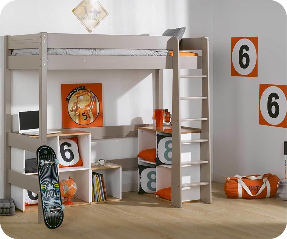 Meuble de rangement bureau enfant for Meuble bureau hetre