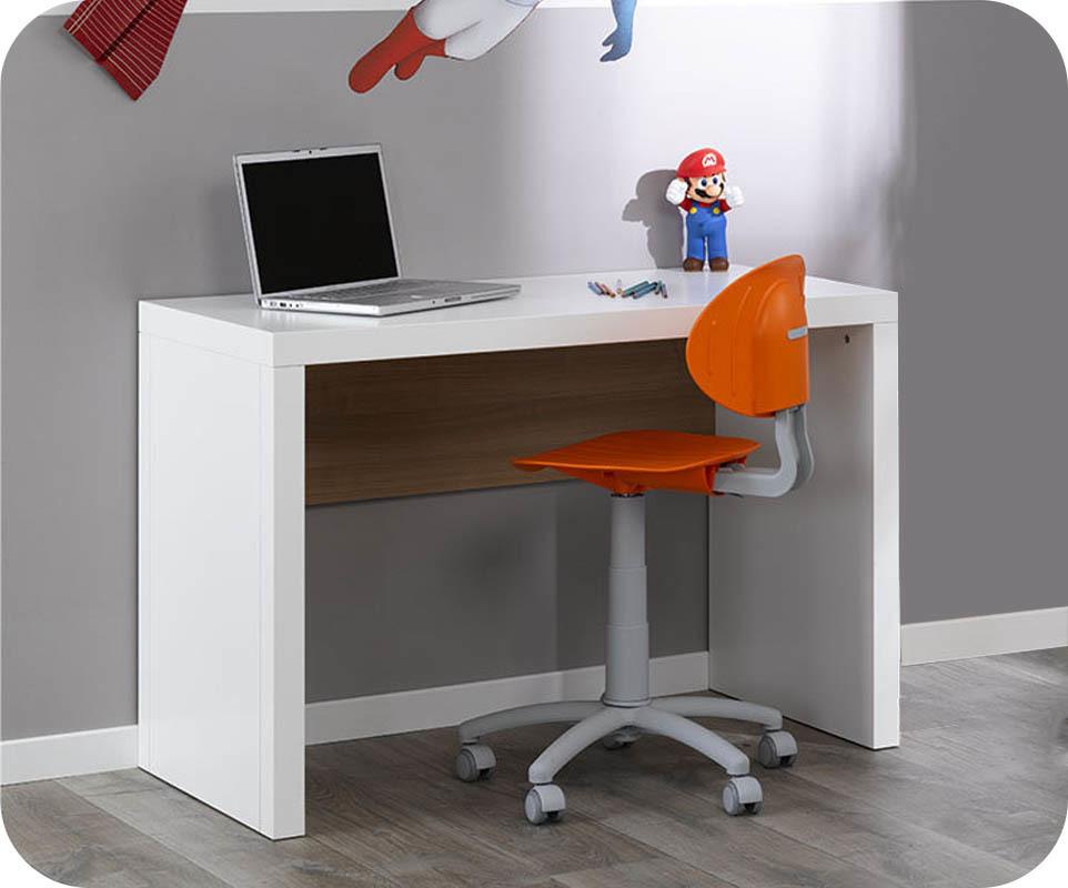 Bureau enfant bow blanc chambre et mobilier de fabrication française
