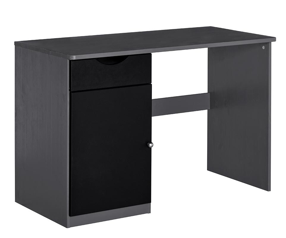 bureau enfant cargo gris anthracite. Black Bedroom Furniture Sets. Home Design Ideas