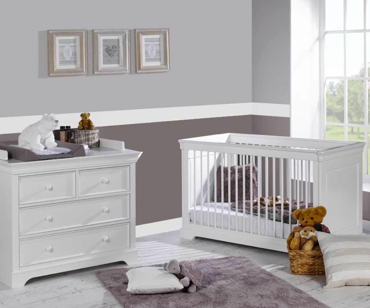 Mini chambre bébé Mel, Mobilier Raffiné pour fille et garçon