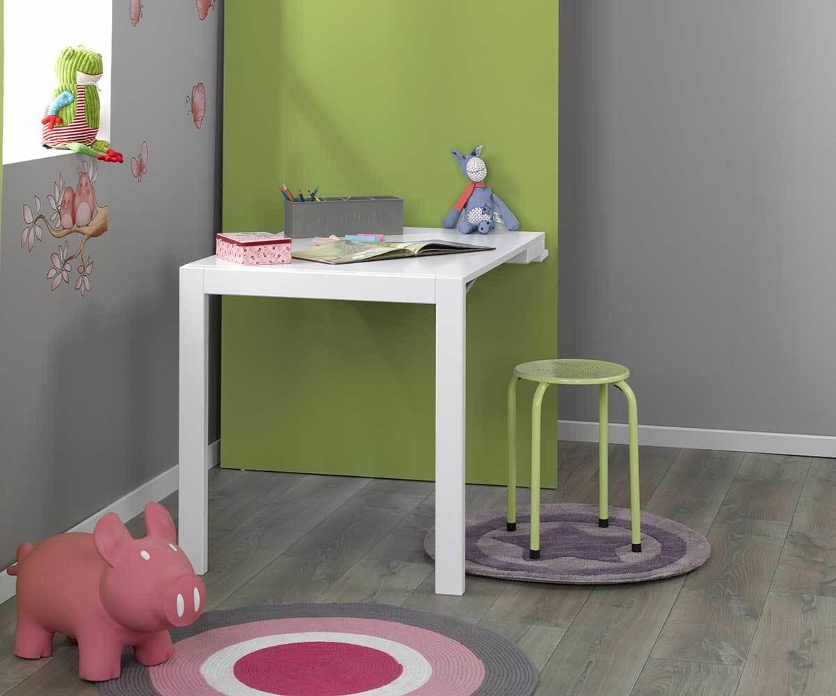 Bureau tableau up rouge mobilier et chambre ecologique pour enfant