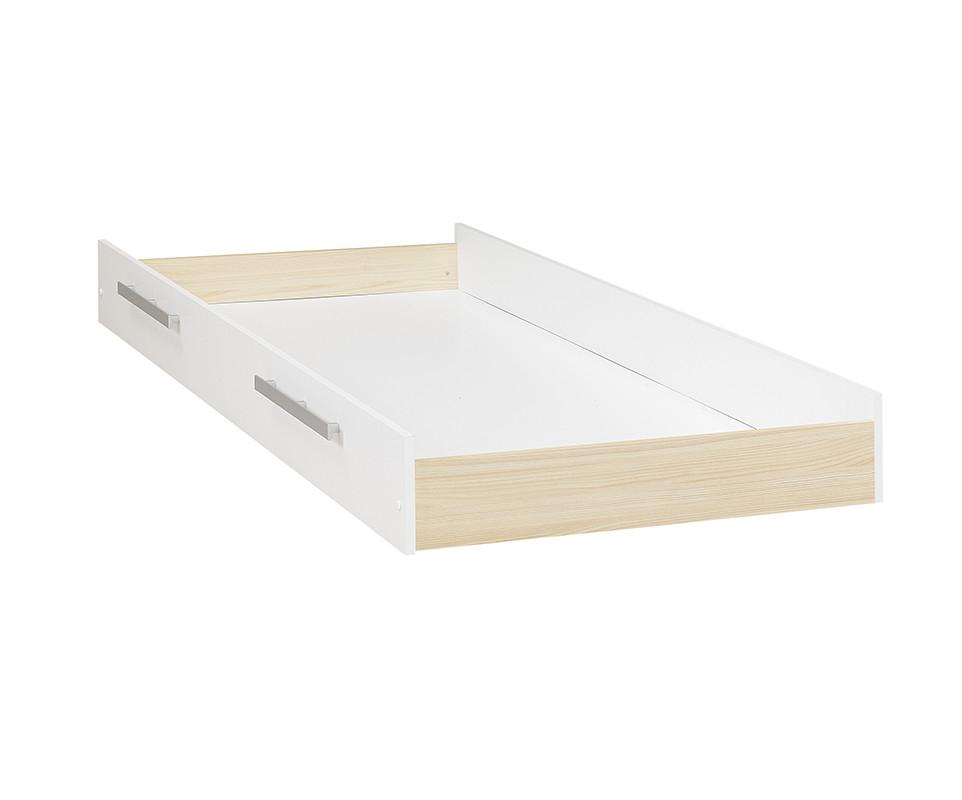 tiroir de lit enfant bora blanc. Black Bedroom Furniture Sets. Home Design Ideas