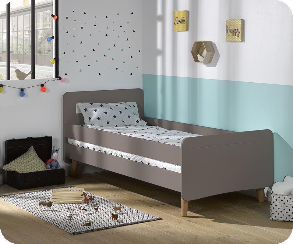 lit enfant willow lin 90x190 cm avec pieds. Black Bedroom Furniture Sets. Home Design Ideas