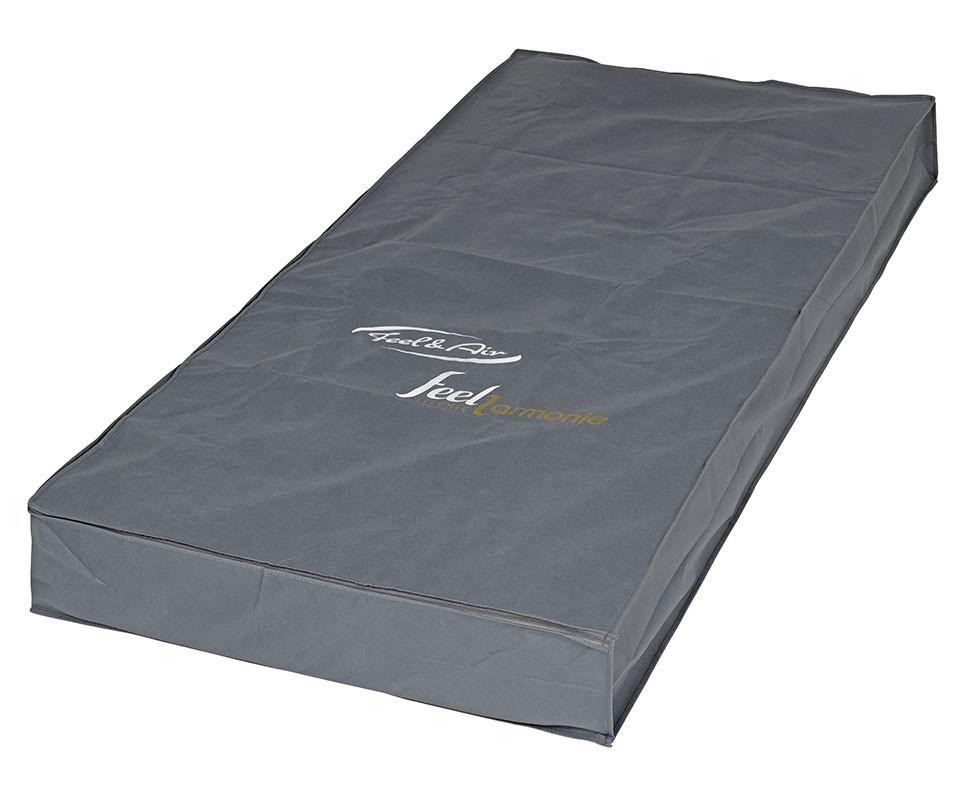 Pack lit enfant sleep 39 in lin 90x200 cm avec sommier et matelas for Housse matelas transport