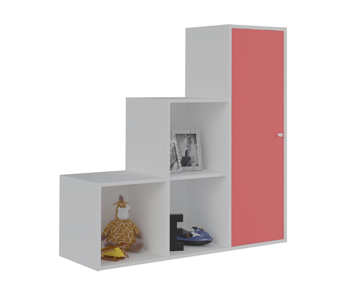 meuble de rangement moov escalier blanche. Black Bedroom Furniture Sets. Home Design Ideas