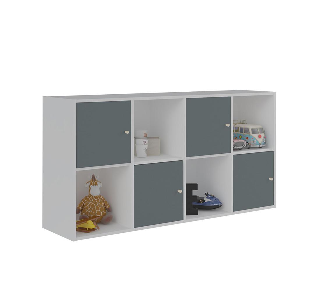 Porte 1 case pour cases de rangement moov - Meuble 9 cases ...