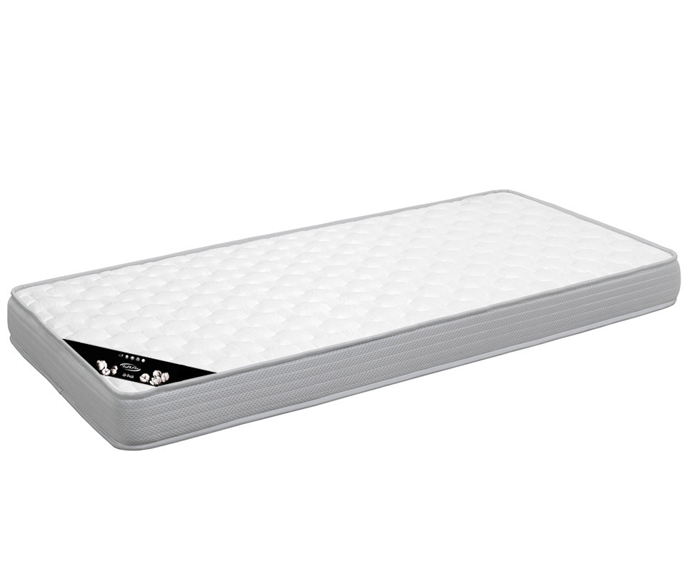 pack lit enfant sleep 39 in brut peindre 90x190 cm avec sommier et matelas. Black Bedroom Furniture Sets. Home Design Ideas
