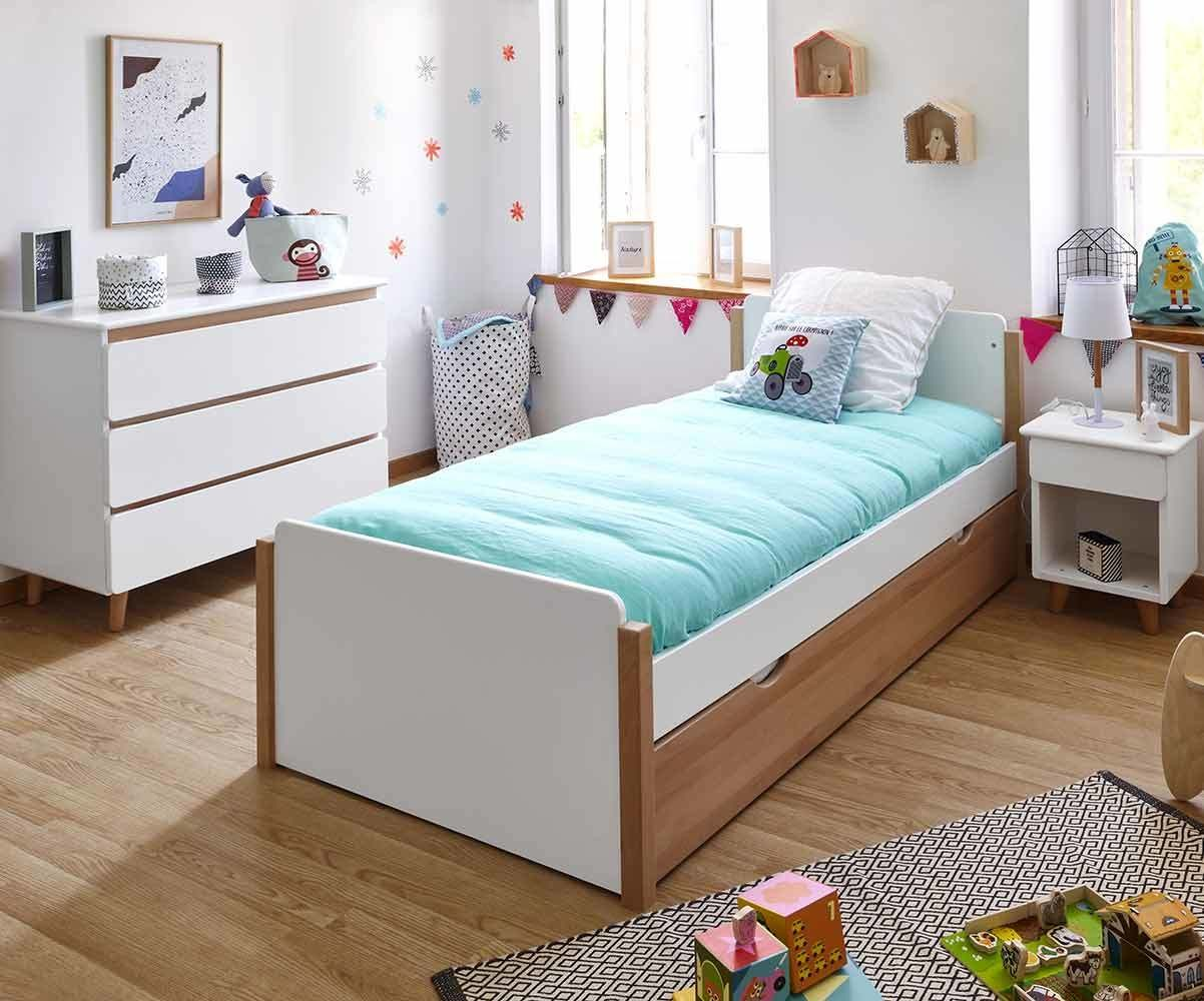 Chambre enfant Sweet, mobilier en bois massif fabriqué en France