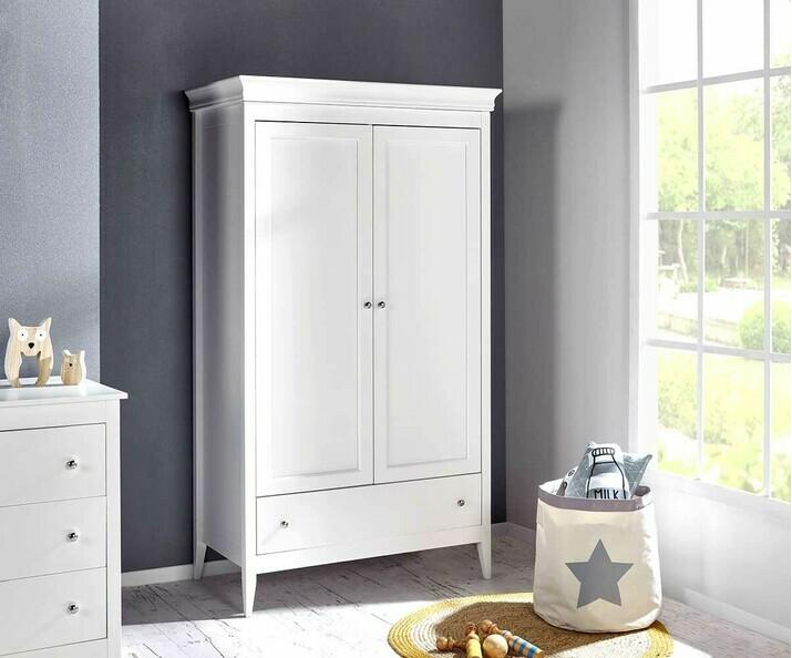 Chambre enfant Lou : lit,commode,armoire,chevet pour fille ...