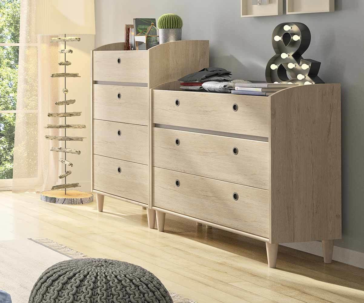 Commode Adulte Yomi Design – Commode Adaptée à la Chambre Adulte