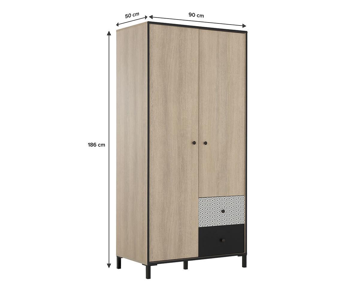 Armoire Dressing Chambre Adulte armoire ado - shaka