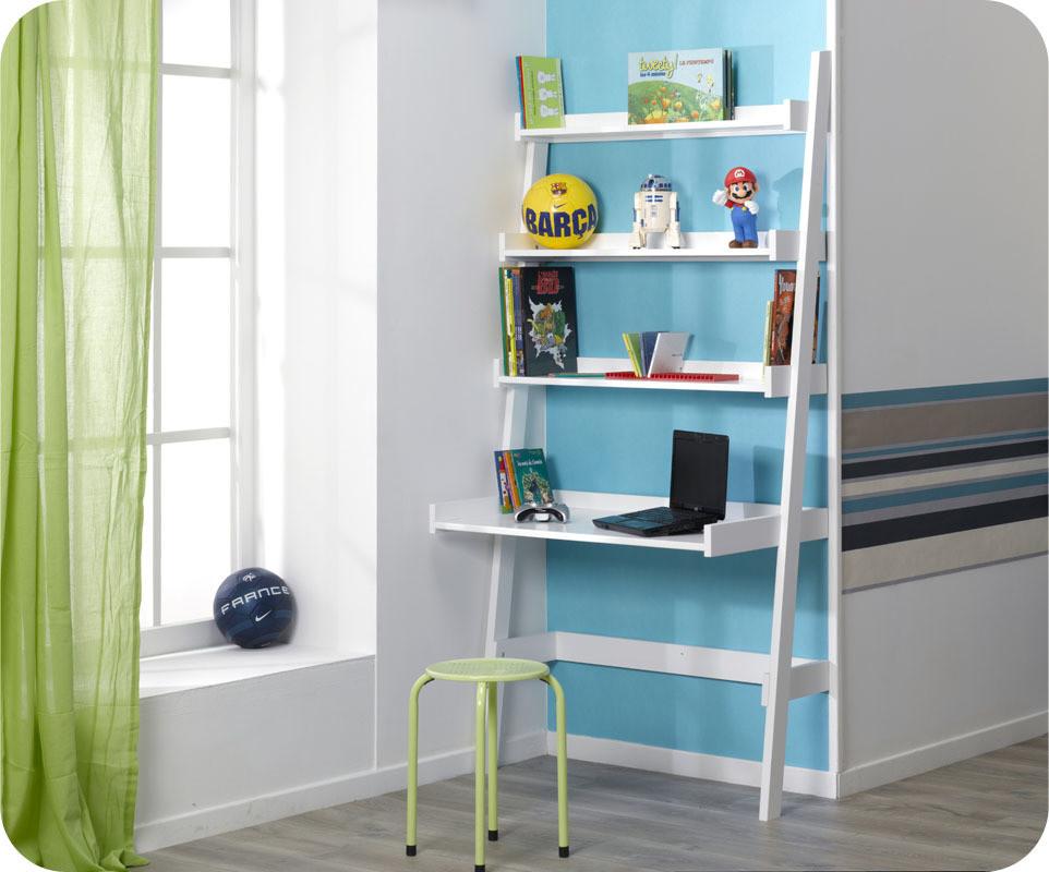 bureau tag res swam blanc. Black Bedroom Furniture Sets. Home Design Ideas