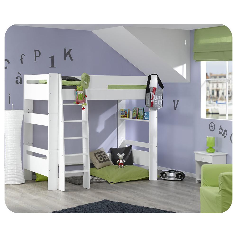 lit mezzanine achat vente lit mezzanine enfant en bois. Black Bedroom Furniture Sets. Home Design Ideas
