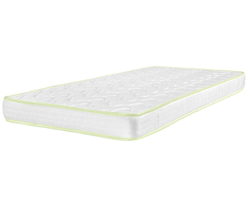 pack lit superpos enfant wax blanc 90x190 cm avec 2 matelas. Black Bedroom Furniture Sets. Home Design Ideas