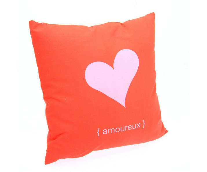 Coussin Fantaisie Rouge