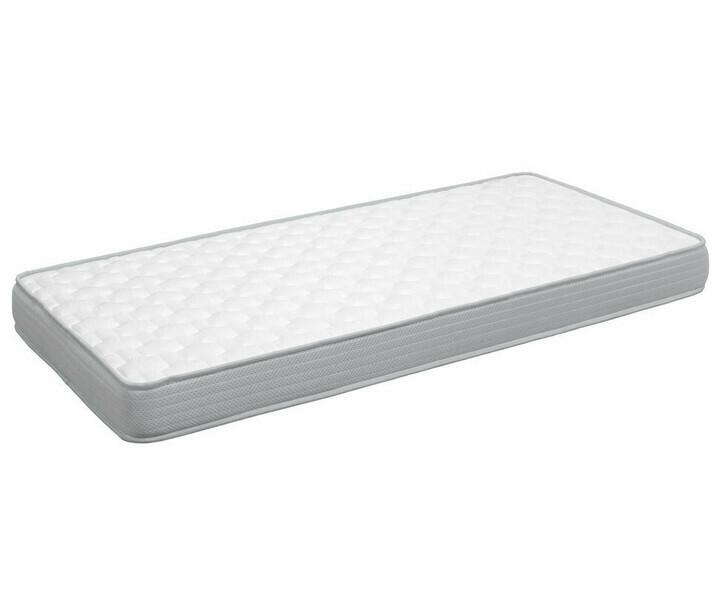 pack lit enfant gigogne island blanc 90x190 cm avec 2 matelas. Black Bedroom Furniture Sets. Home Design Ideas