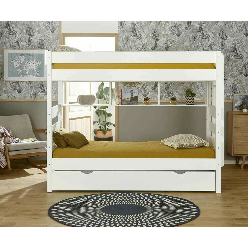 lit superpos kids blanc 90x190 cm. Black Bedroom Furniture Sets. Home Design Ideas