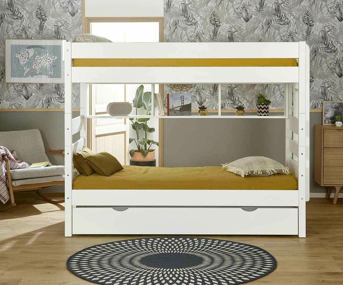 lit superpos avec sommier gigogne kids couchage. Black Bedroom Furniture Sets. Home Design Ideas