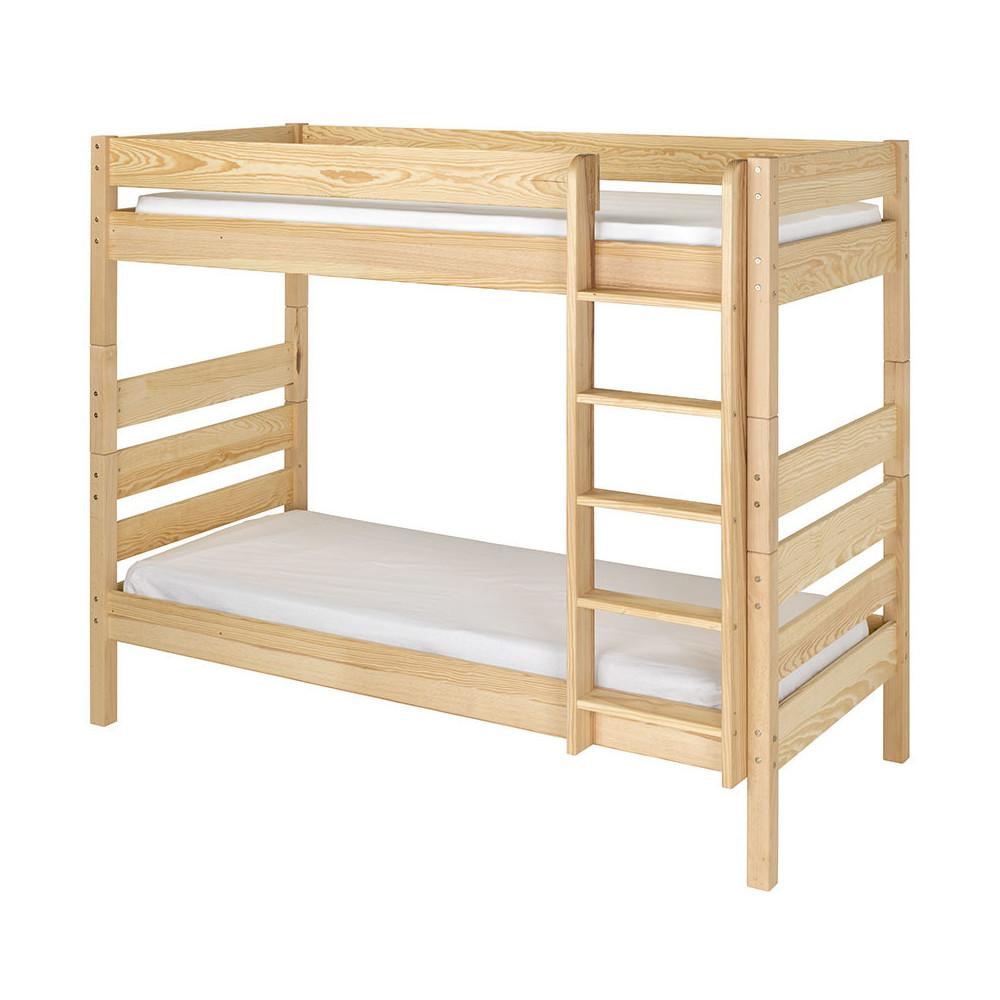 sommier gigogne 90x190 cm fa ade brut peindre pour lits nature 1 2 3 et kids. Black Bedroom Furniture Sets. Home Design Ideas
