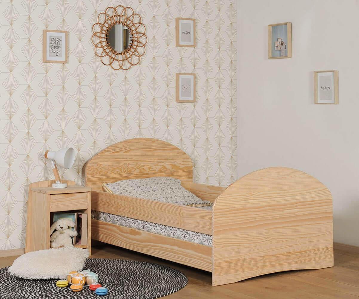 lit enfant volutif livr avec tiroir et matelas made in. Black Bedroom Furniture Sets. Home Design Ideas
