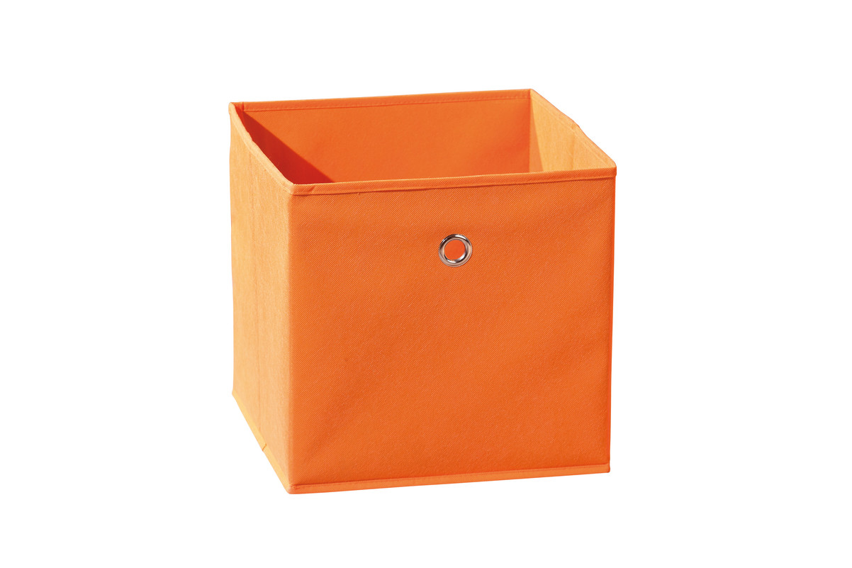 bo te de rangement spring orange vente de boite en tissu. Black Bedroom Furniture Sets. Home Design Ideas