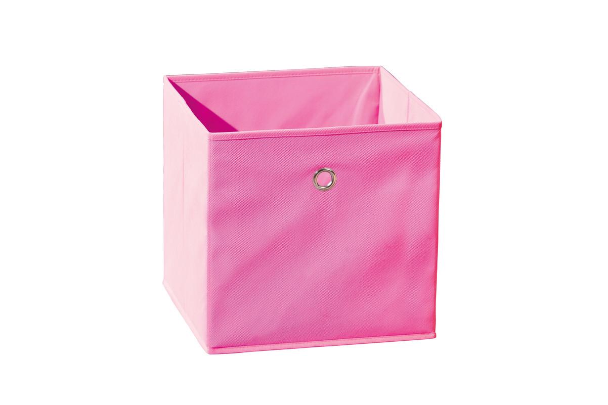 bo te de rangement spring rose achat vente boite de rangement tissu. Black Bedroom Furniture Sets. Home Design Ideas