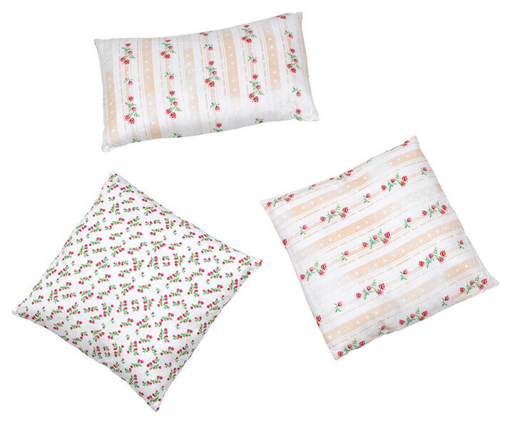 Lot de 3 Coussins Cool Blanc