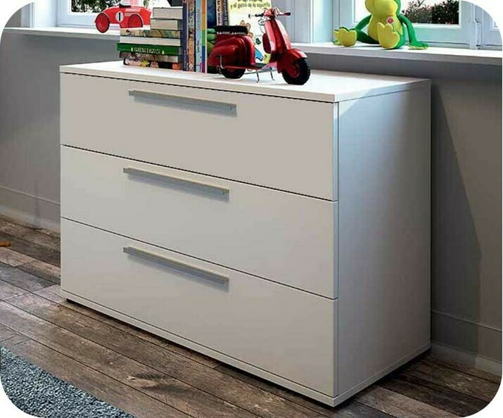 Commode Enfant Jazz Blanche