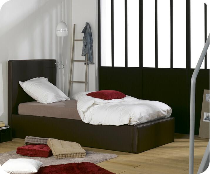 lit coffre pour chambre enfant. Black Bedroom Furniture Sets. Home Design Ideas