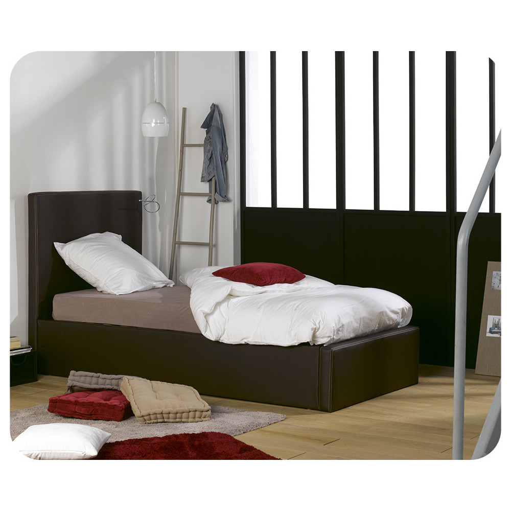 lit coffre pour chambre enfant. Black Bedroom Furniture Sets. Home Design Ideas