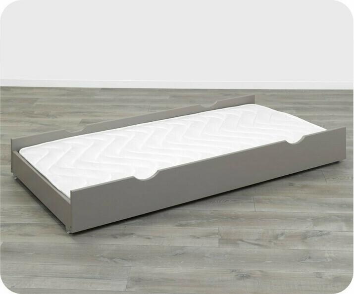 lit enfant nature lin 90x190 cm. Black Bedroom Furniture Sets. Home Design Ideas