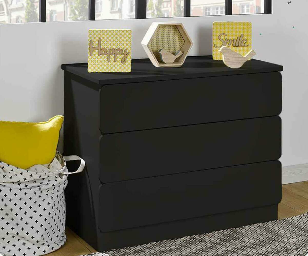 commode enfant twist blanche mobilier ecologique made in france. Black Bedroom Furniture Sets. Home Design Ideas