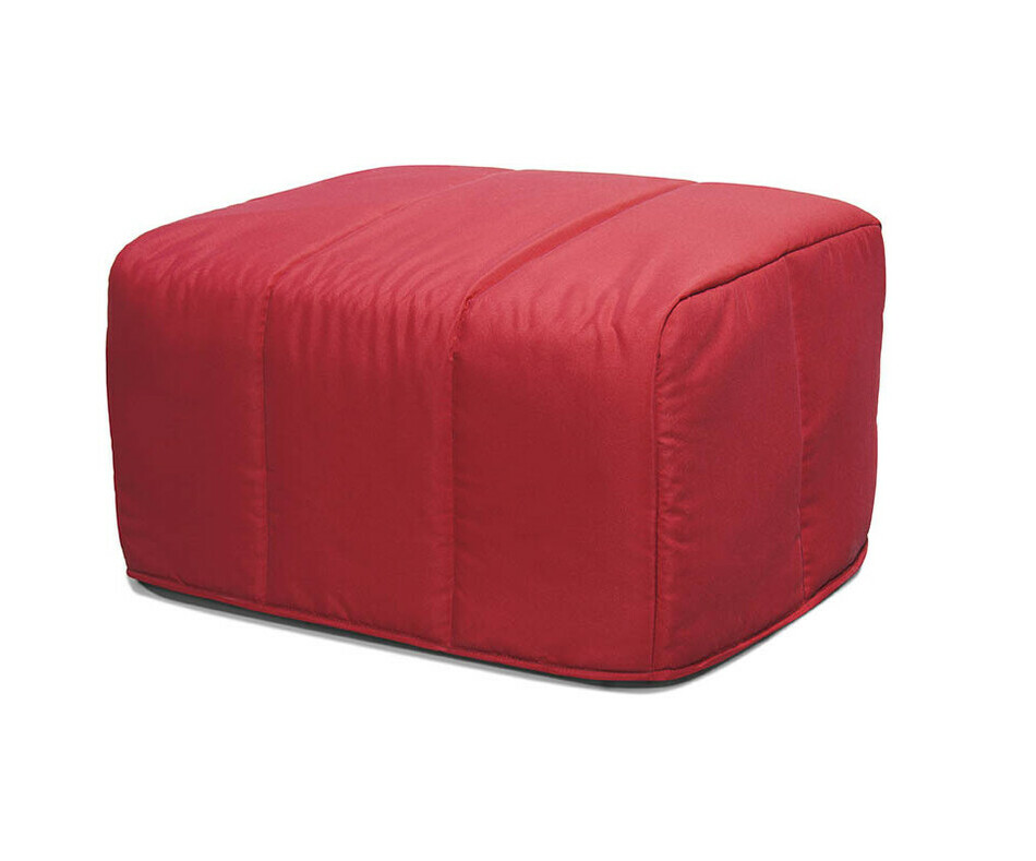 Pouf Convertible Muffin Rouge