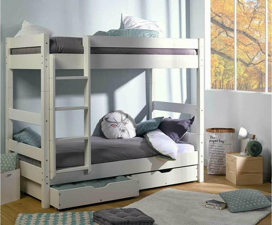 tiroir de rangement pour lit superpos wood en bois massif. Black Bedroom Furniture Sets. Home Design Ideas