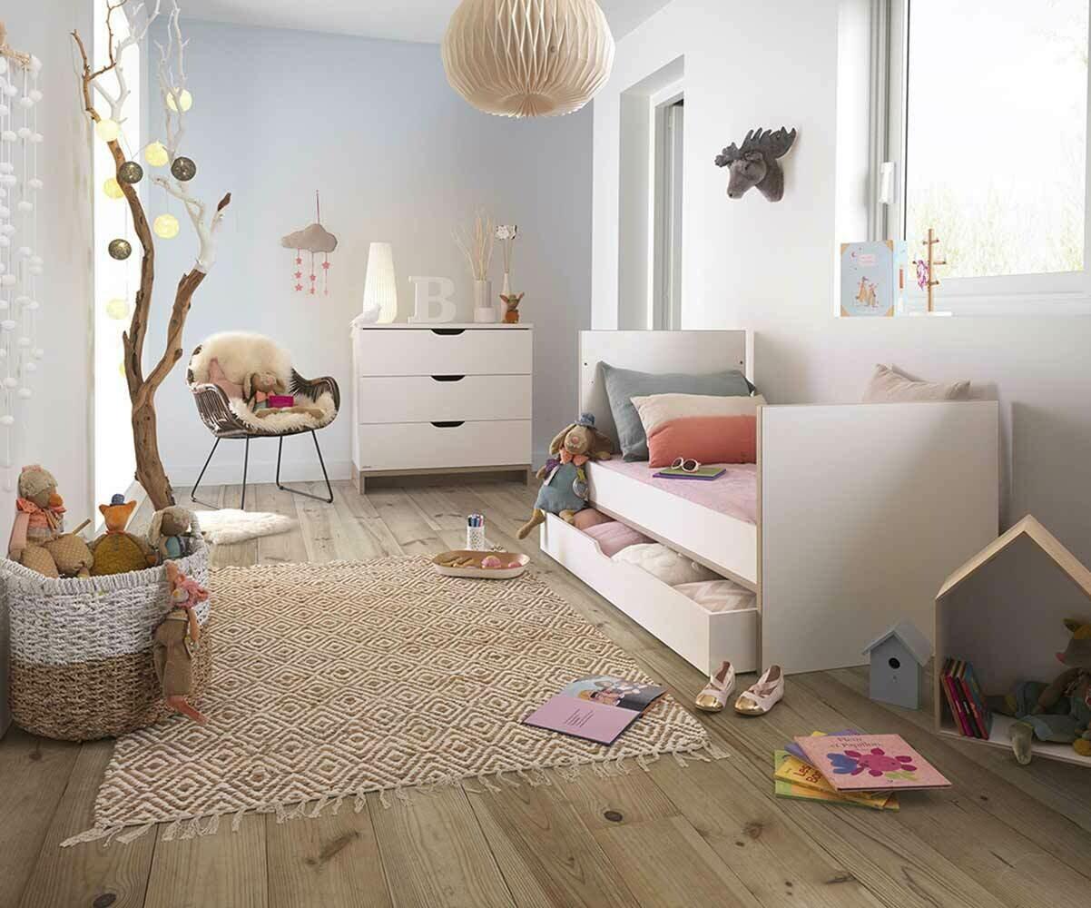 chambre b b compl te plume mobilier mixte de qualit fabriqu en france. Black Bedroom Furniture Sets. Home Design Ideas