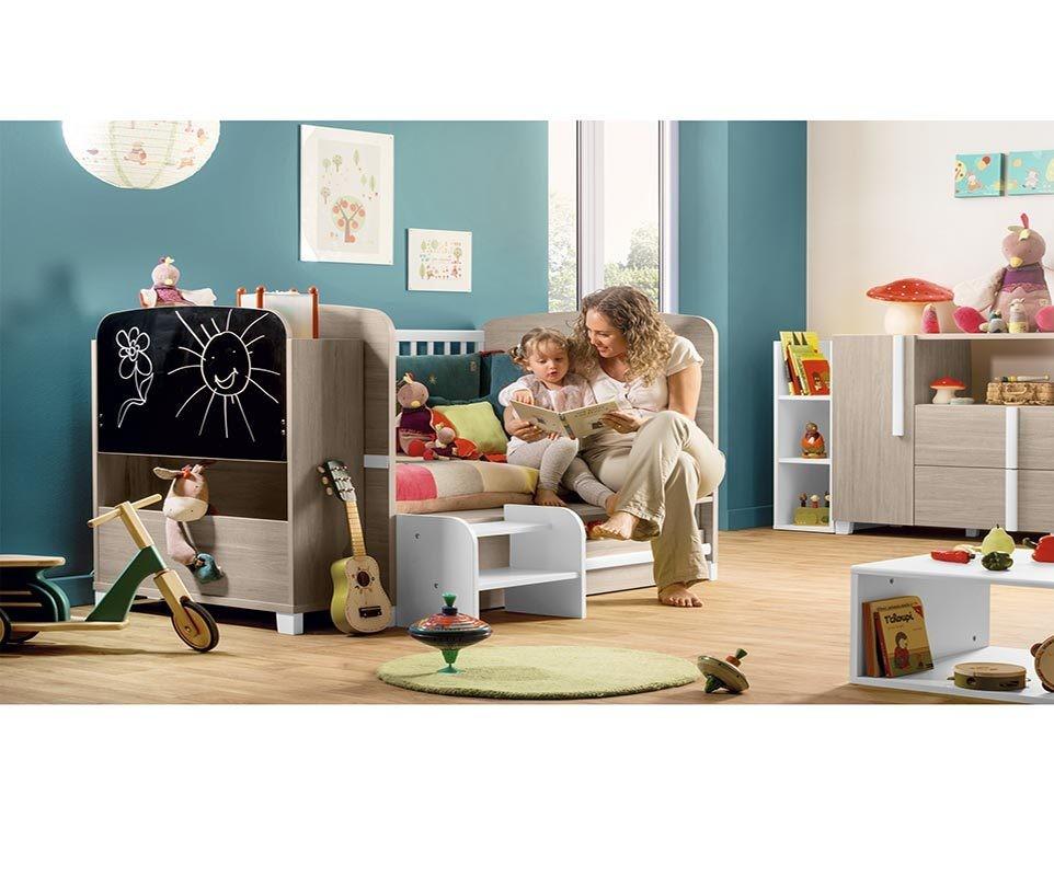 mini chambre b b nola mobilier de fabrication fran aise. Black Bedroom Furniture Sets. Home Design Ideas