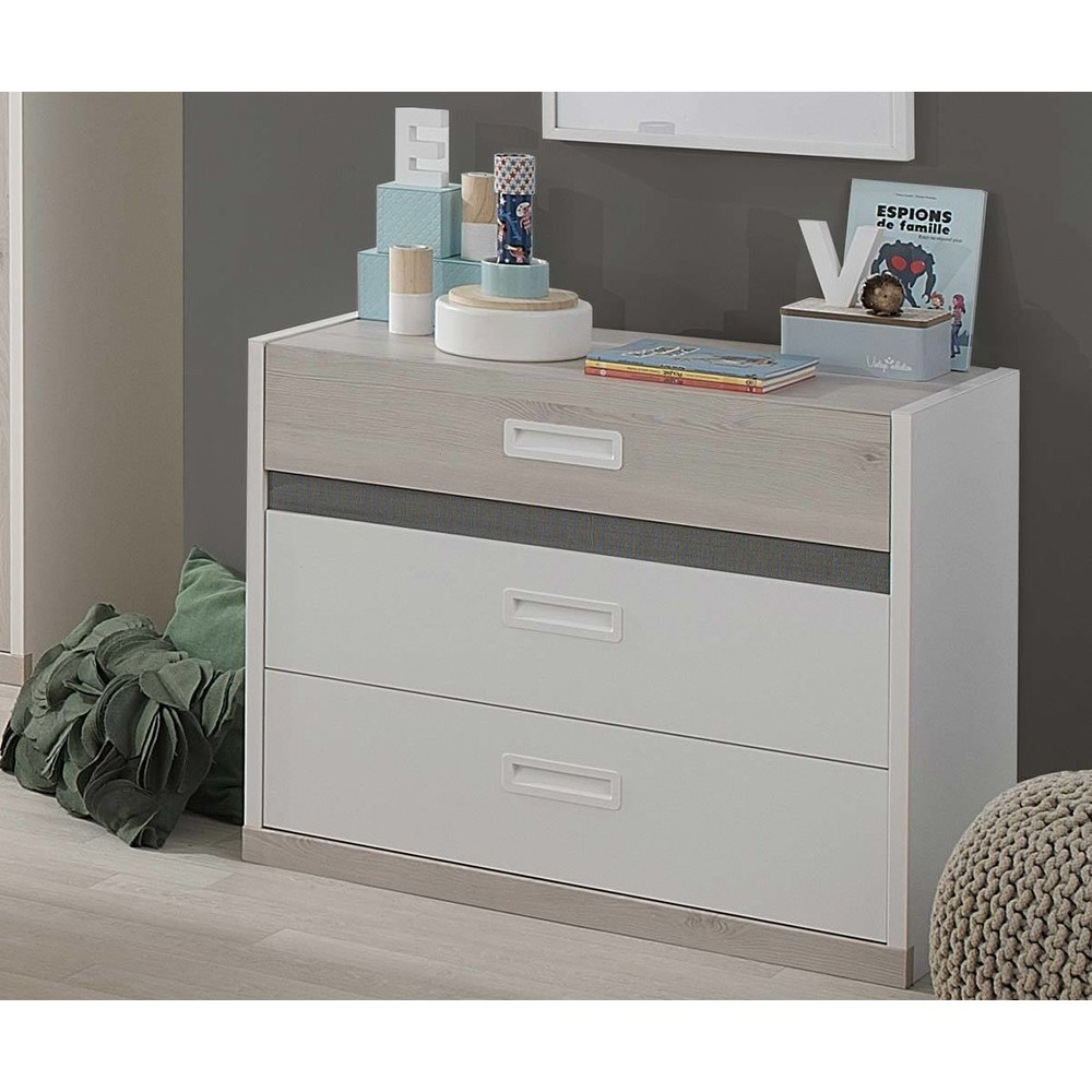 commode enfant pas cher achat mobilier en promo. Black Bedroom Furniture Sets. Home Design Ideas