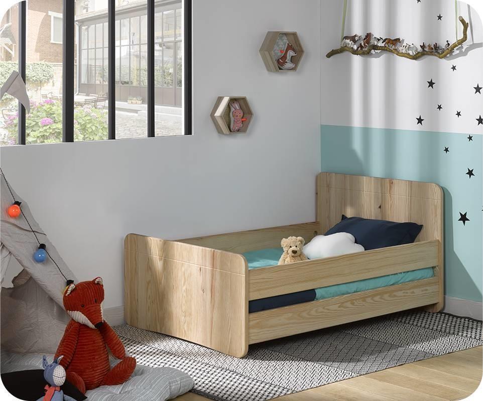 lit enfant volutif willow brut peindre. Black Bedroom Furniture Sets. Home Design Ideas