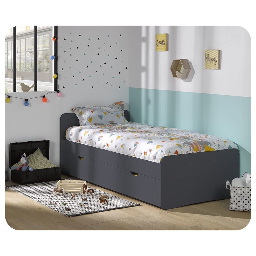 lit enfant bois massif achat lit enfant fabrication fran aise. Black Bedroom Furniture Sets. Home Design Ideas