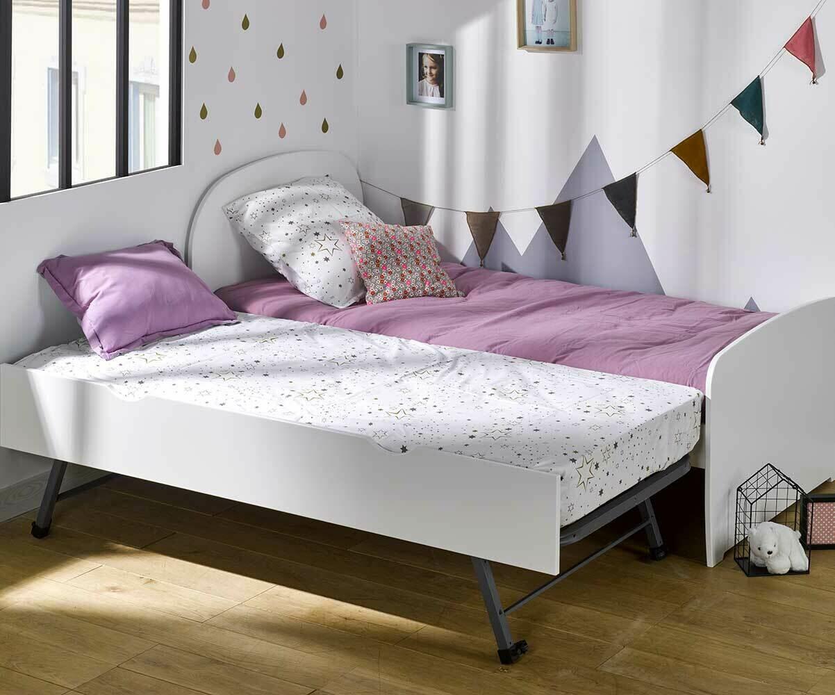 lit enfant gigogne luen fabriqu en france mobilier. Black Bedroom Furniture Sets. Home Design Ideas