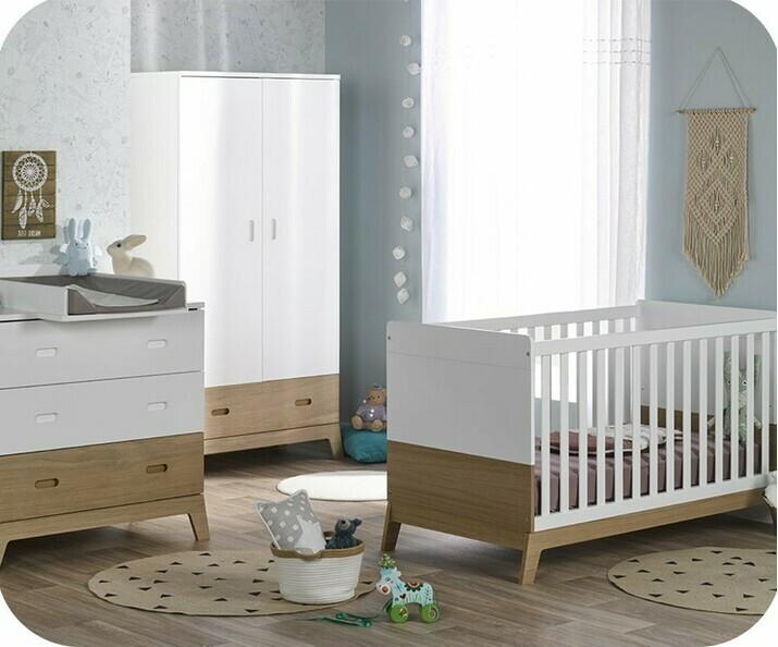 chambre b b compl te et cologique. Black Bedroom Furniture Sets. Home Design Ideas