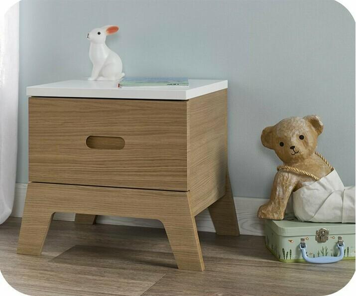 table de chevet en bois pour enfant ma chambre d 39 enfant. Black Bedroom Furniture Sets. Home Design Ideas