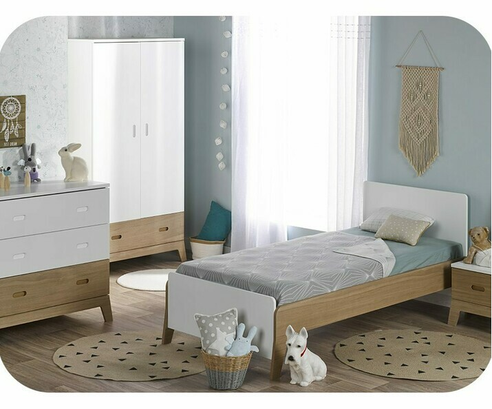chambre d 39 enfant ecologique fabriqu e en france achat. Black Bedroom Furniture Sets. Home Design Ideas