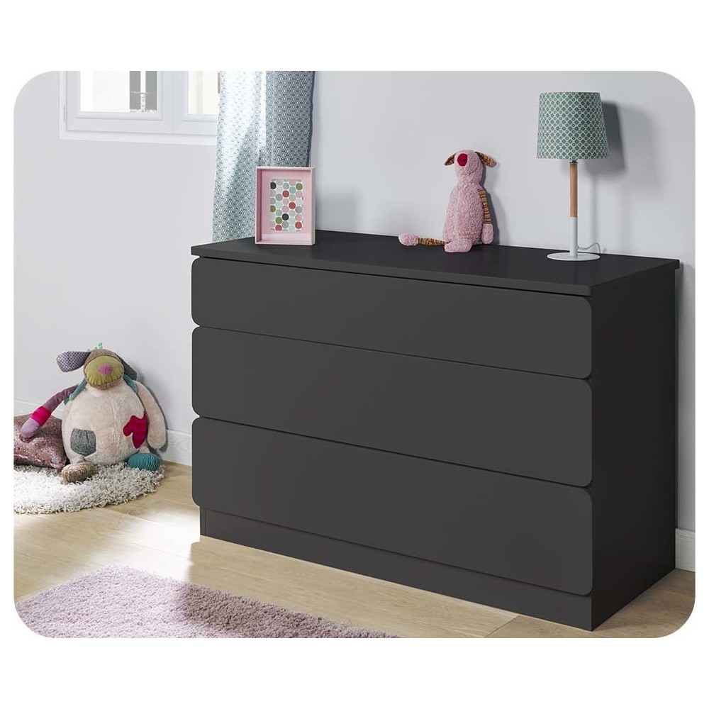 commode enfant pas cher achat mobilier en promo. Black Bedroom Furniture Sets. Home Design Ideas