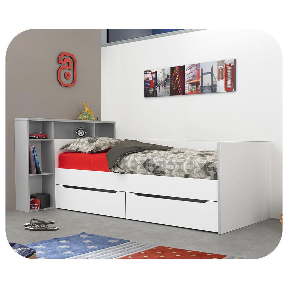 lit banquette enfant en bois massif. Black Bedroom Furniture Sets. Home Design Ideas