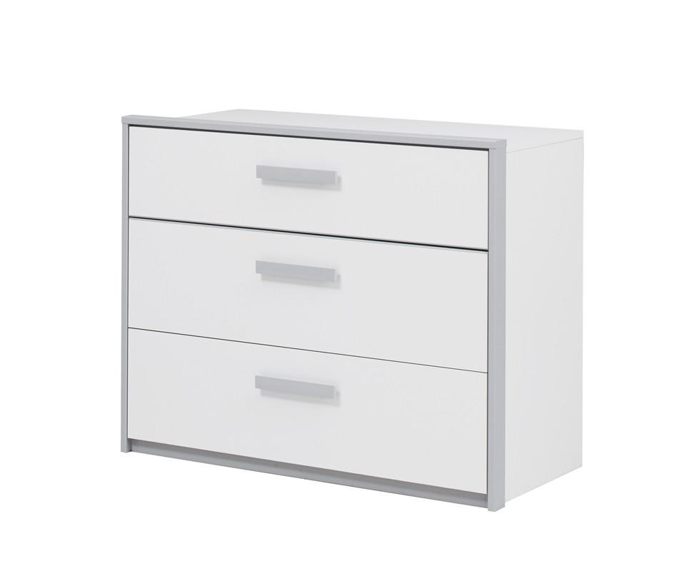 commode enfant tim o avec 3 tiroirs mobilier de. Black Bedroom Furniture Sets. Home Design Ideas