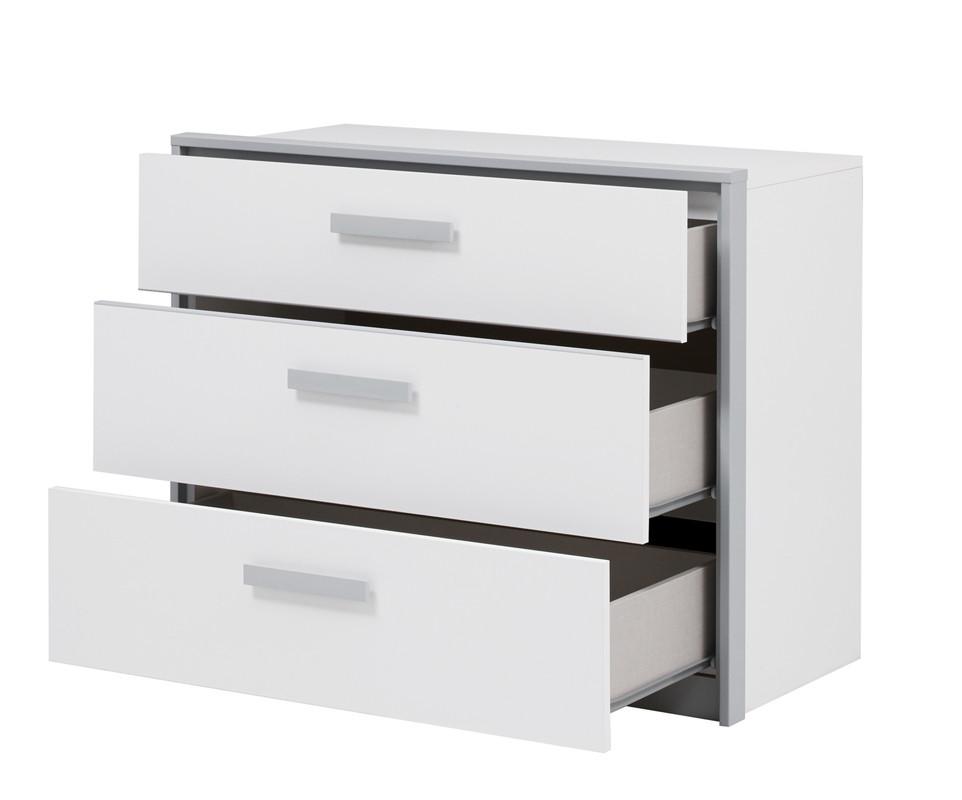 commode enfant tim o avec 3 tiroirs mobilier de fabrication fran aise. Black Bedroom Furniture Sets. Home Design Ideas