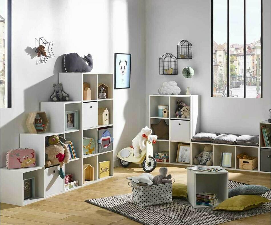 Meuble de rangement Moov 4 cases pour la Chambre de votre Enfant