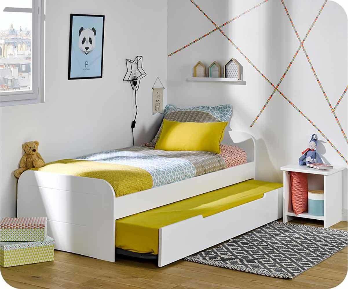 lit enfant gigogne sleep 39 in mobilier en bois massif. Black Bedroom Furniture Sets. Home Design Ideas